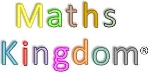 website MATHS KINGDOM Logo r Greyscale